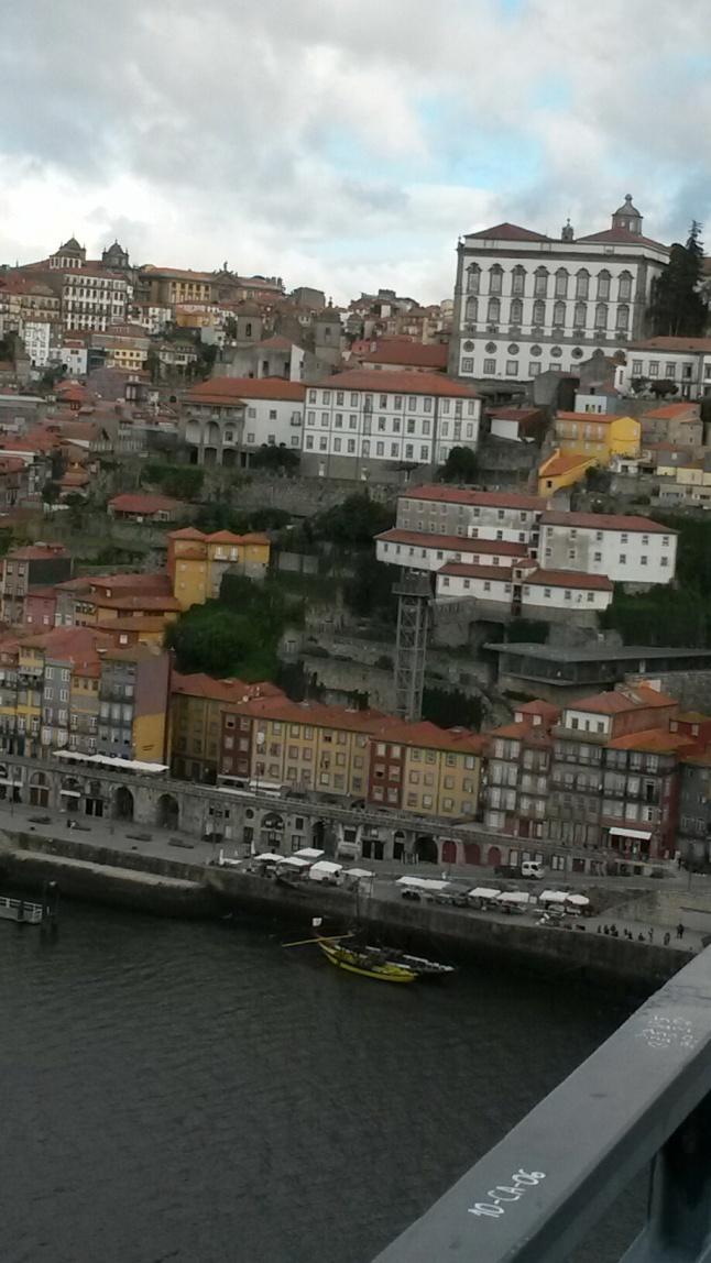 porto depuis villa nova